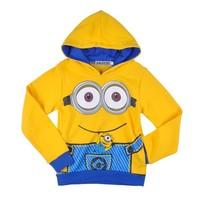 2015 wholesale winter coat clothes Despicable Me Kids Sweat shirts sport tracksuit for children boy hoodies OEM