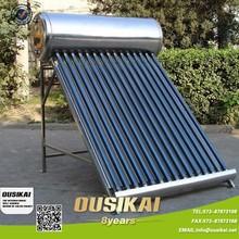 OUSIKAI 100% Acero Inoxidable 304' precios de contado Calentadores Solares/ Calentador de agua solar / Solar water heater