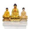 Golden Pu tuo/Guan Yin Religious image Resin trophy