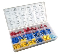 Copper Tube Terminals Kit 260pc Assorted Copper Tube Terminals