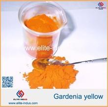 food yellow color Gardenia yellow powder