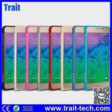 Fashion Ultra-thin Design LOVE MEI Curved Metal Bumper Hard Case for Samsung Galaxy Alpha SM-G850F SM-G850A