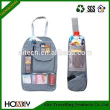 Fabric Car Seat Side Back Storage Pocket Backseat Hanging Storage Bags Organizer