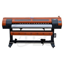 eco solvent printer dx7 1.8m with dx7 heads 1440dpi sublimation textile machine works