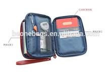 Custom Large Size Specialized Promotinal Travel Passport Holder Card Wallet Bag