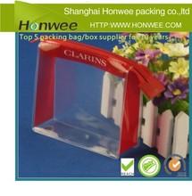 2014 big new high quality clear zipper slider pvc bag packaging