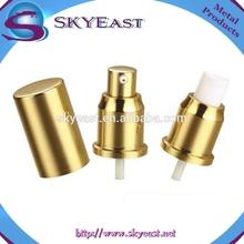 Vente chaude oxydation Aluminium vis parfum pompe du pulvérisateur avec Cap