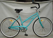 26 beach cruiser bicycle with simple style and powerful brake for you