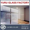 china fabricantes de alta qualidade do bloco de vidro