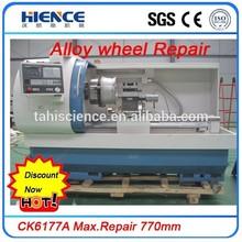 CK6177A BMW Alloy Rim Repair cnc lathe and alloy wheel repair equipment