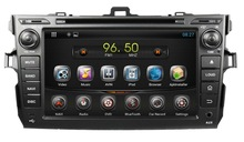 Pure Android 4.2 Rockchip A9 dual-core car multimedia system with GPS/DVD/Radio/MP4 player for Toyota Old Corallo