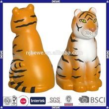 China manufacture promotional pu foam toy/ pu tiger