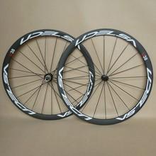 UDELSA U38 carbon wheels clincher 700C light weight bicycle wheels 38mm depth 20H/24H