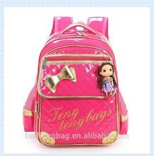 fashion children cute girls school custom backpack