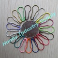 22mm steel pear shaped colour safety pin