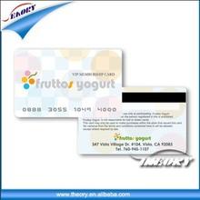 2014 Fashion design product ic card pvc visiting card