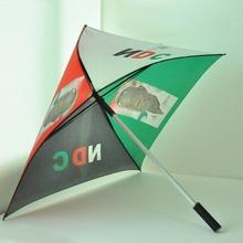 Smooth surface gift digital printing straight umbrella