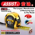 medición de la cinta cinta métrica de acero herramienta de medición