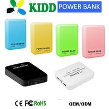 China Market of Electronic usb Portable Battery Power Bank Battery