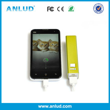 TOP SALE ! ALD-P11 Aluminum Alloy 2600mah portable charger for samsung galaxy note 2