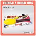 31 cm exterior divertido espacio cohete de juguete venta al por mayor del deporte juguete