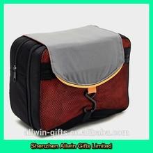 Multi-function mens mesh pockets travel hanging toiletry bag
