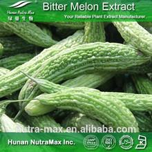 Halal&Kosher Bitter Gourd Capsules/Charantin 10% Bitter Melon Nutrition