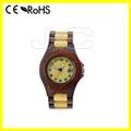 venda quente de fábrica madeira relógio digital e escultura em madeira relógio de alta qualidade com movment miyota