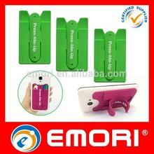 Hot selling funny custom-print mobile phone case card holder wallet