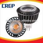 CREP fast delivery UL/CE/Rohs 3W,5W,8W GU10 MR16 MR11 4500K COB led spot light