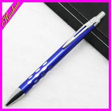 holes Brass Ballpoint Pen, Office Pen, Metal Click Ball Pen promotional items