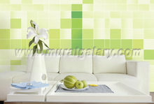 (BH00001)tv background living walls wood wall mural