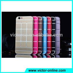 For iPhone 6 Case Aluminum , Custom Mobile Phone Accessories