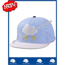 new product china supplier wholesale alibaba website stripes flat cotton snapback custom logo oem baseball cap and hat