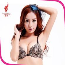 girls sexy nipple bra size cup B bra for big breasted women