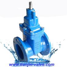 Wedge gate valve,non rising stem din gate valve cast iron