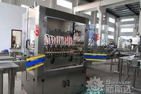 2014 Sheenstar Automatic Edible Oil Filling Machine / Bottling Line