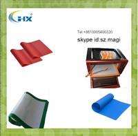 2015 Amazon high quality custom logo nonstick silicon baking mat silicone macaron baking mat