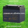 profesional yuasan 12v ups agm vrla batería de ciclo profundo de la batería solar