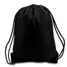 OEM/ODM black small nylon mesh drawstring bag(YT-DB0203)