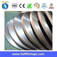 High quality plastic film tape laminated aluminum foil