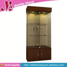 pop up display stand, MX7171 lighted glass display case