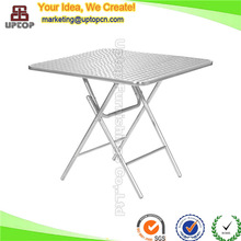 (SP-AT358) Outdoor picnic aluminum small metal folding table