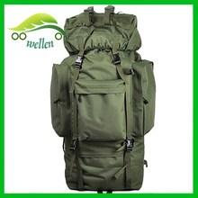 hot prduct military bag,fashion travel bag backpack75l wholesale yiwu