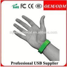 Rubber Bracelet USB Drive 4GB & 8GB ( promotional gift, corporate gift, premium gift, souvenir ) , Free sample
