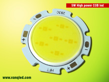 Alibaba Manufacture Led cob chip,5w pure white led cob chip,CE&RoHS approved