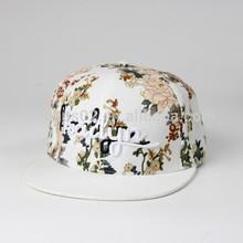 Cotton felt ladies' floppy hat