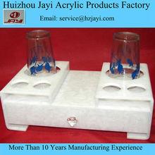 eco-friendly hotel amenity trays, acrylic hotel amenities tray, acrylic tray