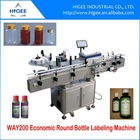automatic bottle labeling machine china