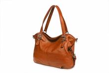 2015 the most popular handbag,genuine leather big size womam shoulder bag leather lady handbags